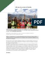 Los 400 años de un relato de Medellín