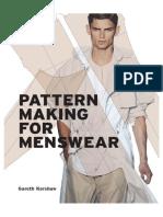 Pattern Making for Menswear _ Gareth Kershaw