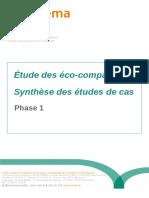 Études Des Eco-comparateurs