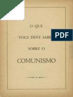 o Que Deve Se Saber Sobre o Comunismo