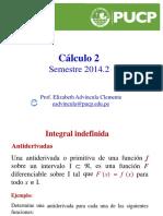 Sesion 3 CAL2 2015.0 Repaso de Integral Indefinida