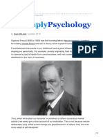Sigmund Freud and His Psychodynamic Theories