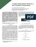 A High Precision Proton Magnetometer Based on a.pdf