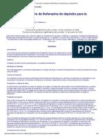 Decanoato y Enantato de Flufenazina de Depósito Para La Esquizofrenia