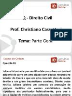 PPTRQ - Aula 02 - Direito Civil - Parte Geral - Prof. Christiano Cassettari