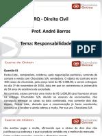 PPTRQ - Direito Civil - Responsabilidade Civil - Andre Barros