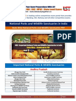 Important National Parks and Wildlife Sanctuaries in India Download in PDF