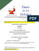 Diario de Debate del Proyecto de Ley 3747/2009-CR