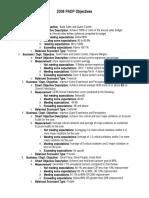 2008 GM PADP Objectives