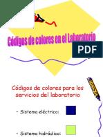 Códigos de colores en el Laboratorio