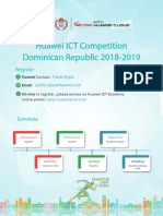Huawei Competition DR 2018 2019
