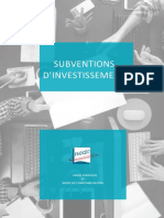 2016 04 29 Subventions Dinvestissement