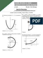 Lista de Execícios III Unidade - Mecânica Geral - Copy