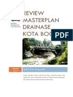 Executive Summary Drainase Bogor