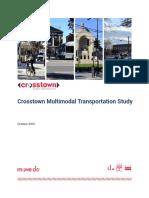 Washington DC Crosstown Study Final Report