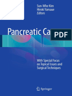 Pancreatic Cancer With Special Focus on Topical Issues and Surgical Techniques