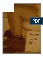 The Brownlist 2010