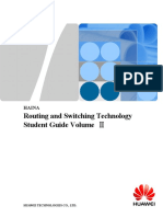 Routing and Switching Technology Student Guide Volume Ⅱ
