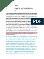 Sentencia de Inconstitusionalidad Art 140 Del Cod