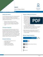 ADS 050 5V Pressure Meter Data Sheet