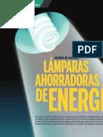 Estudio de lámparas incandescentes