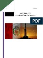Geopolitica Petrolera Nacional