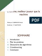 l'Homme Et La Machine Au Jeu