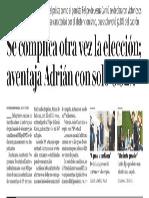 24-12-18 Se complica otra vez la elección; aventaja Adrián con solo 0.92%