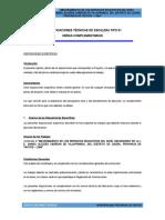 Especificaciones Estructura Escalera