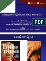 Diagnostico Diferencial de Las Demencias Dr Julian Bustin 2013