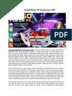 Link Alternatif Poker 99 Terpercaya 2019