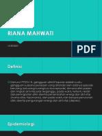 Riana Mahwati Blok 15