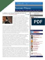 2007-07-09 La Biblia en Los Hechos Apócrifos de Pedro (I) G. Del Cerro [83 de 3084]
