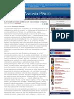 2007-07-25 Las Implicaciones Políticas de Un Mensaje Religioso F.bermejo [92 de 3084]
