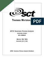 01 BPA001-Business Process Analysis Workbook