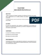 Plan Poes de La Empresa Grupo Wayayo