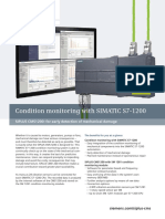 Brochure - Condition Monitoring With SIMATIC S7-1200
