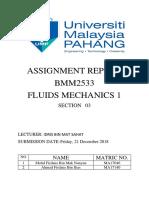 Fluid Report