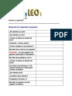 Lola y Leo Examen Unidades 01-05