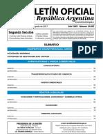 Boletin Oficial de Republica Argentina