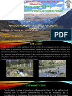 Erosion Hidrica en La Cuenca Alta Del Rio Moche