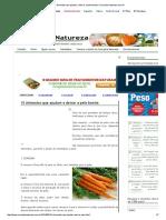 10 Alimentos Que Ajudam a Deixar a Pele Bonita _ Cura Pela Natureza.com