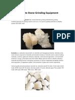 Dolomite Powder Grinding Equipment