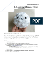White Blood Cell Crochet Pattern