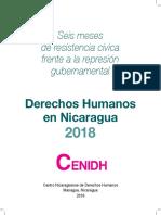 Derechos Humanos en Nicaragua 2018 CENIDH