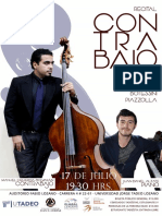 afiche recital manuel figueroa