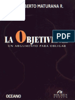 Humberto Maturana - La Objetividad.pdf