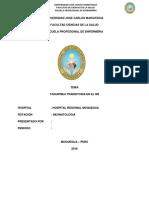 PAE DE TAQUIPNEA TRANSITORIA EN EL RN
