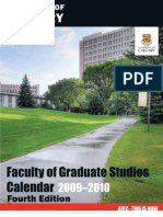 2009-2010 Graduate Calendar Nov23 2009 Fourth Edition-2