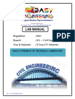 Ce6411 Strength of Materials Laboratory(Civil) by Easyengineering.net